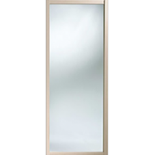 "Shaker Sliding Wardrobe Door 914mm (36"") Maple Mirror Door"